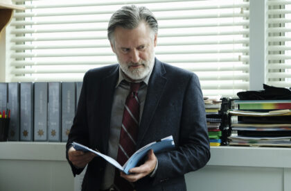 """THE SINNER -- """"Part III"""" Episode 103 -- Pictured: Bill Pullman as Detective Harry Ambrose -- (Photo by: Peter Kramer/USA Network)"""